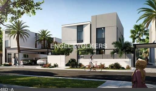 5 Bedroom Villa for Sale in Al Furjan, Dubai - Spacious Private House Type A   Large Land Plot   Single Row