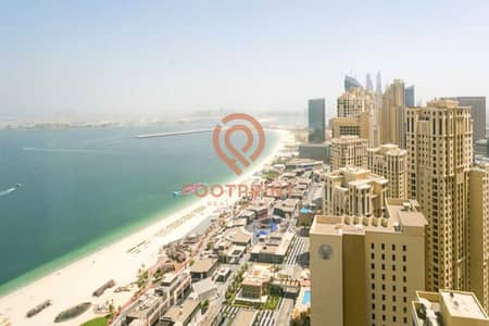 شقة 2 غرفة نوم للبيع في جميرا بيتش ريزيدنس، دبي - Investor Deal | 2BR Full Sea View Apartment in JBR
