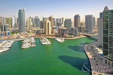 فلیٹ 2 غرفة نوم للبيع في مدينة دبي للإنترنت، دبي - 2 Bedroom | High Floor | Full Marina View