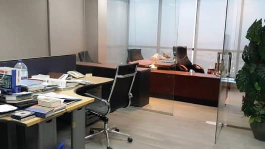 Fitted Furnished Office with Golf Course View in X2 JLT