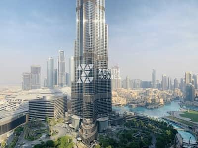 3 Bedroom Apartment for Rent in Downtown Dubai, Dubai - Burj & Fountain View | High Floor | Immaculate