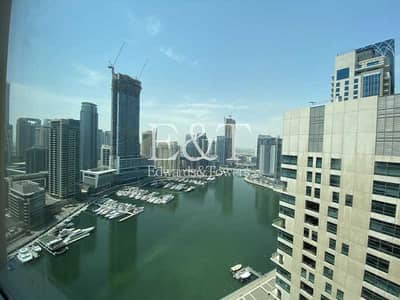 2 Bedroom Apartment for Rent in Dubai Marina, Dubai - Marina View | Great Layout | Chiller Free | Superb