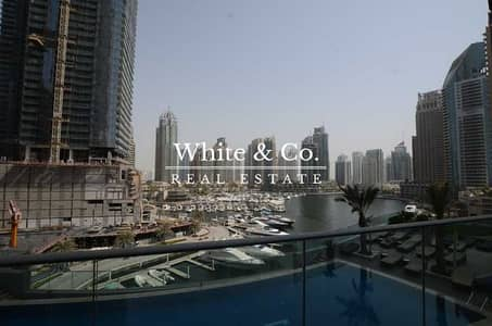 2 Bedroom Flat for Rent in Dubai Marina, Dubai - MID FLOOR GREAT MARINA VIEW