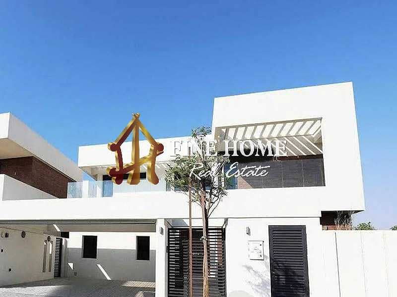 2 Huge 5BR VIP Villa in West Yas | Move as you buy