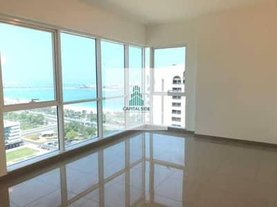 2 Bedroom Apartment for Rent in Corniche Area, Abu Dhabi - Khaldiyah Corniche - No Chiller Fees - Spacious - Large Windows