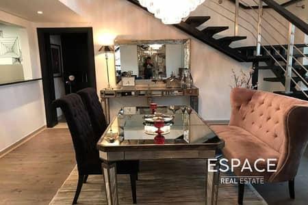شقة 3 غرف نوم للايجار في تلال الجميرا، دبي - Fully Furnished - Large Balcony - Mid-Aug