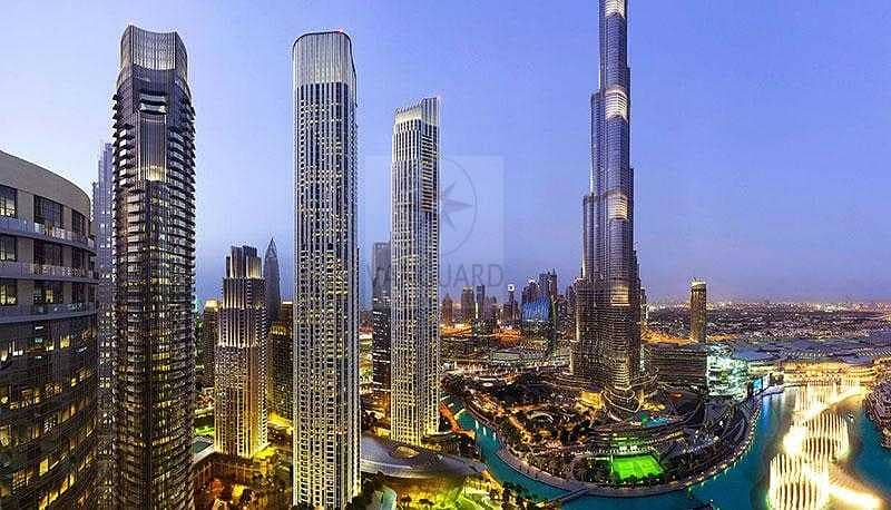 4 Bedroom Apt with Fountain and Burj View for Sale in IL Primo