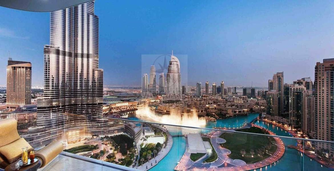 4 4 Bedroom Apt with Fountain and Burj View for Sale in IL Primo