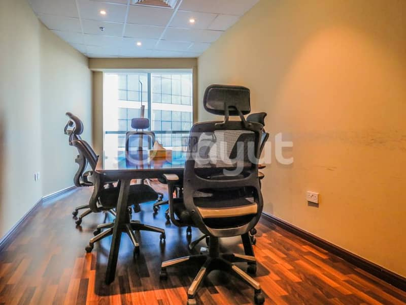 4 Fully furnished serviced Office at API trio Novotel Hotel