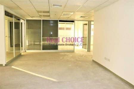 مکتب  للايجار في شارع الشيخ زايد، دبي - Fitted Office With Glass Partitions in SZR