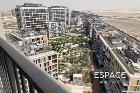 2 Bedroom Flat for Rent in Dubai Production City (IMPZ), Dubai - Park Views | Balcony | Brand New | Available Now