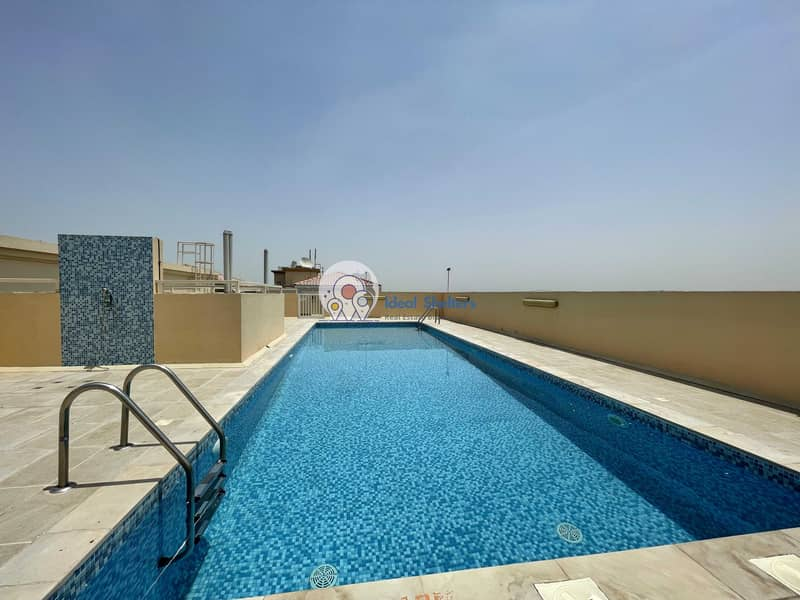 SEMI BRANND NEW 1BHK | GYM+POOL+PARKING | PRIME LOCATION | NOW AVAILABLE | WARQA 1