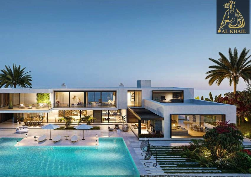 2 Experience New Luxury Beachfront Living in Al Gurm Villa Plot