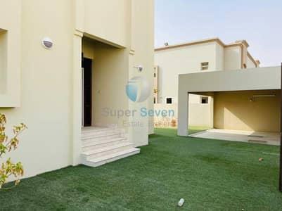 4 Bedroom Villa for Rent in Barashi, Sharjah - Beautiful 4-Bedroom  Plus Maid room Villa for Rent Barashi