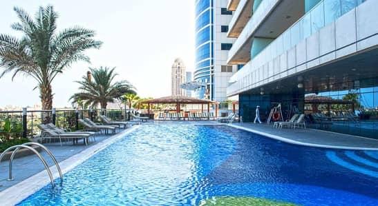 شقة في أوشن هايتس دبي مارينا 3 غرف 180000 درهم - 3141216