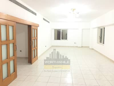 Beautiful and Very BIG 3 BHK   Maid room apartment is now available for rent in Najda Street