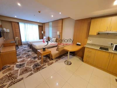 Hotel Apartment for Rent in Sheikh Zayed Road, Dubai - LIMITED OFFER | LIVING IN HOTEL APARTMENT | CARLTON HOTEL & SUITES