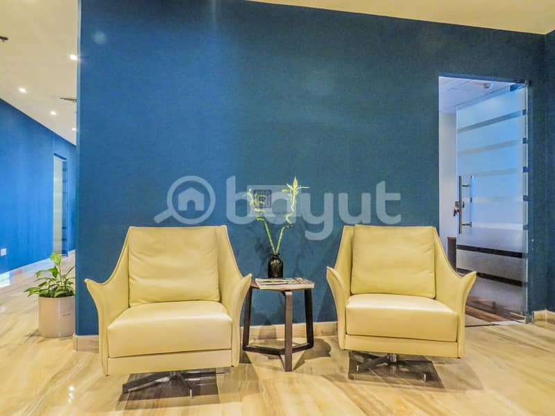 10 Fully furnished serviced Office at API trio Novotel Hotel