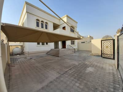 4 Bedroom Villa Compound for Rent in Khalifa City A, Abu Dhabi - pvt entrance excellent finishing 4 master B/R stand alone villa with front yard+covered parking