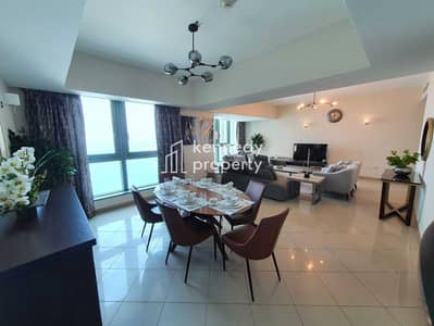 1 Bedroom Flat for Rent in Corniche Area, Abu Dhabi - Well Maintained | Sea View | Fitted Kitchen