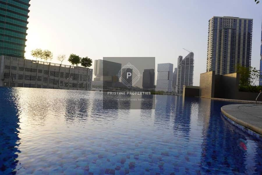 2 Bedroom Apartment For Rent at (Burooj View) Al Reem Island ( Sea View and Balcony)