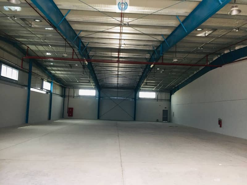 17/sqft Onwards, Office, Warehouse For Storage In Bounded and Unbounded Type From Custom In Sharjah