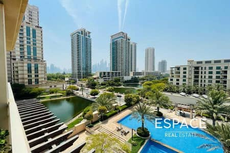 2 Bedroom Flat for Rent in The Views, Dubai - Pool View   Chiller Free   Good Condition