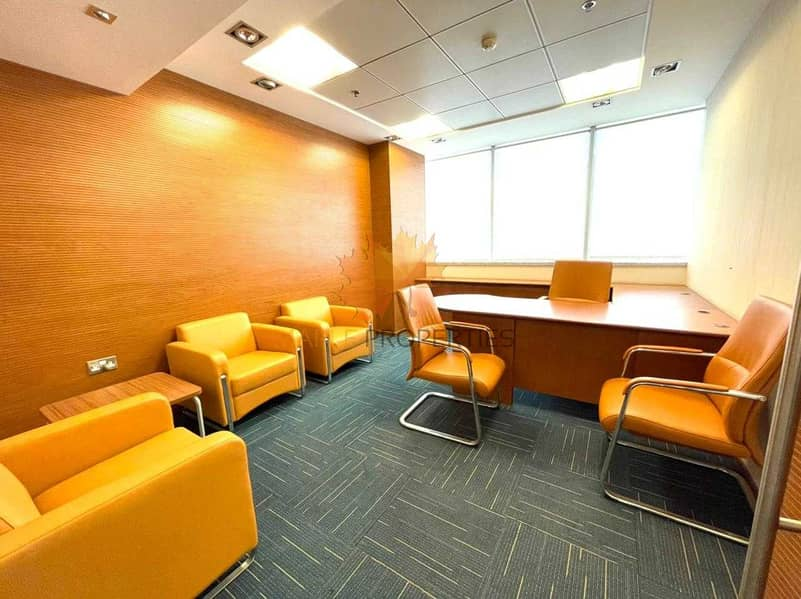 Furnished Offices || Modern Style Offices || Amazing Location || Near To Metro