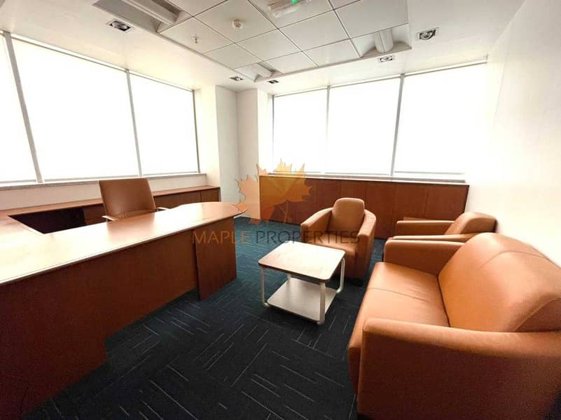 2 Furnished Offices || Modern Style Offices || Amazing Location || Near To Metro