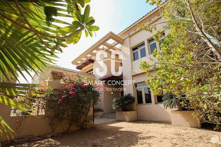 5 Bedroom Villa for Sale in Al Raha Golf Gardens, Abu Dhabi - Private Pool and Garden   Maid's Room   Vacant