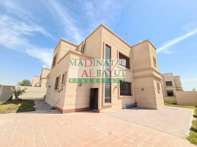 4 Bedroom Villa for Rent in Mohammed Bin Zayed City, Abu Dhabi - ASTONIHING 4 MASTER BEDROOM VILLA WITH PRIVATE POOL IN FAMILY LIVING COMPOUND MBZ