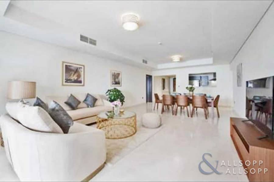 3 Bedrooms | Large Balcony | Furnished