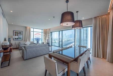 شقة 3 غرف نوم للبيع في التلال، دبي - Fully Furnished | Golf Course View | High Floor