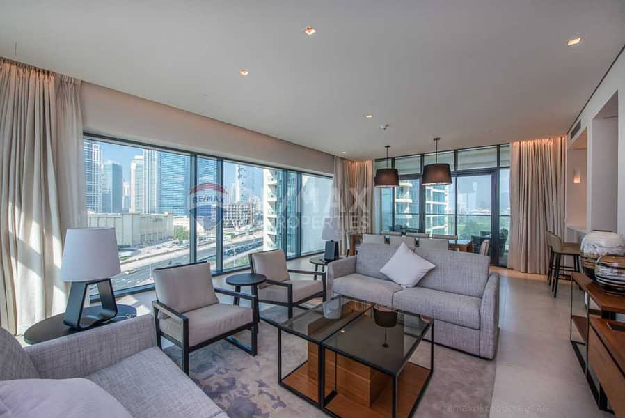 2 Fully Furnished   Golf Course View   High Floor