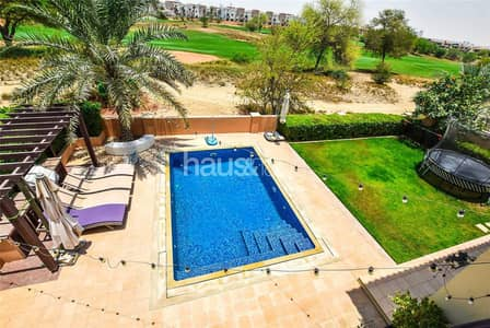 5 Bedroom Villa for Sale in Jumeirah Golf Estates, Dubai - Exclusive | Large plot | White kitchen