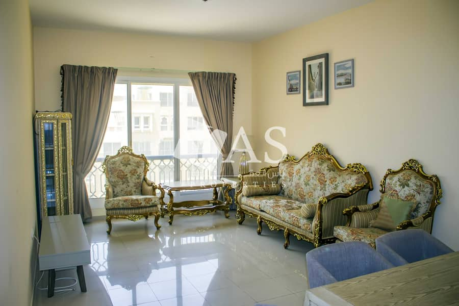 2 Partial beach and pool view | Fully furnished