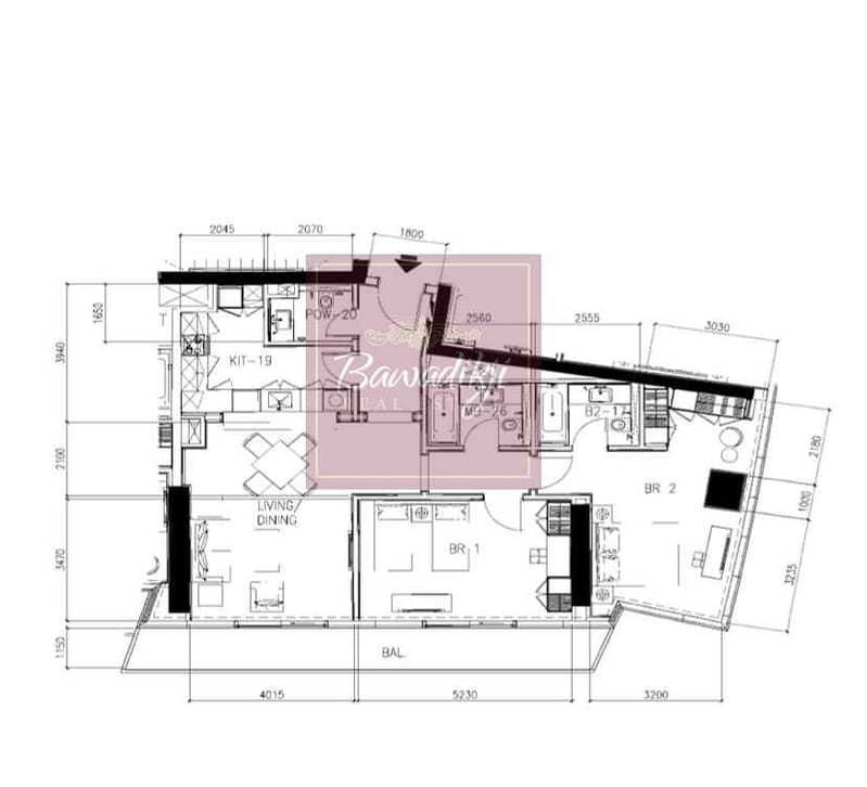 13 Cheapest in the market / Fendi Casa Design / Marina View