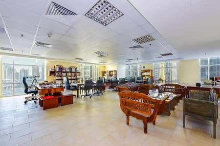 Fully furnished office for rent in The Dome at JLT
