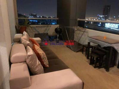 فلیٹ 2 غرفة نوم للبيع في مدينة دبي الرياضية، دبي - HIGHER FLOOR   CLOSE KITCHEN   FURNISHED 2 BEDROOM