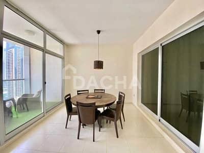 3 Bedroom Flat for Rent in Dubai Marina, Dubai - Hot Deal / Marina & Sea Views / AC Free