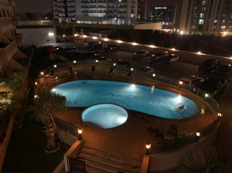 Upgraded 1BHK   Pool View   Next to Silicon Center