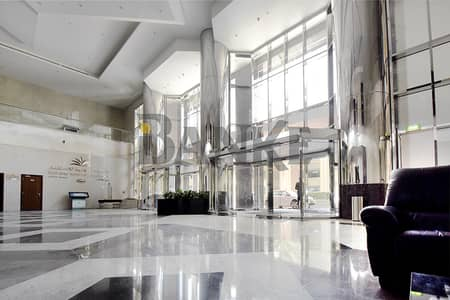 Office for Sale in Business Bay, Dubai - Furnished office   Churchill Executive   Stable and Canal view