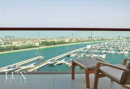 Studio for Rent in Palm Jumeirah, Dubai - Full Sea View | Well Maintained | Available Now