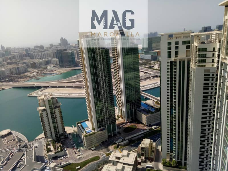 شقة في بروج فيوز مارينا سكوير جزيرة الريم 2 غرف 73000 درهم - 5288873