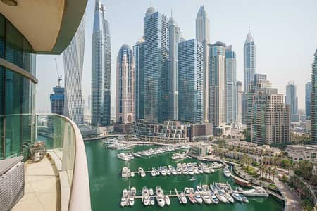 2 Bedroom Apartment for Sale in Dubai Marina, Dubai - Stunning Marina View| 2BR + Maid's+ Store room|VOT