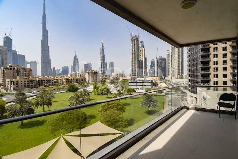 Full Burj Khalifa View I Huge Layout I Vacant