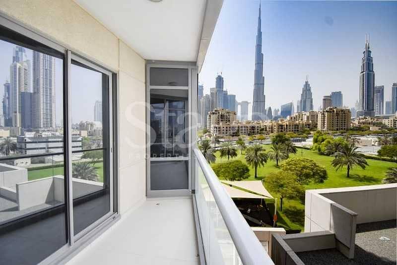 2 Full Burj Khalifa View I Huge Layout I Vacant