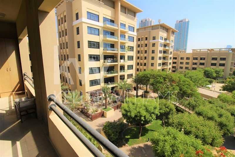 23 Upgraded. Well maintained 2 Bed+Study. Courtyard View