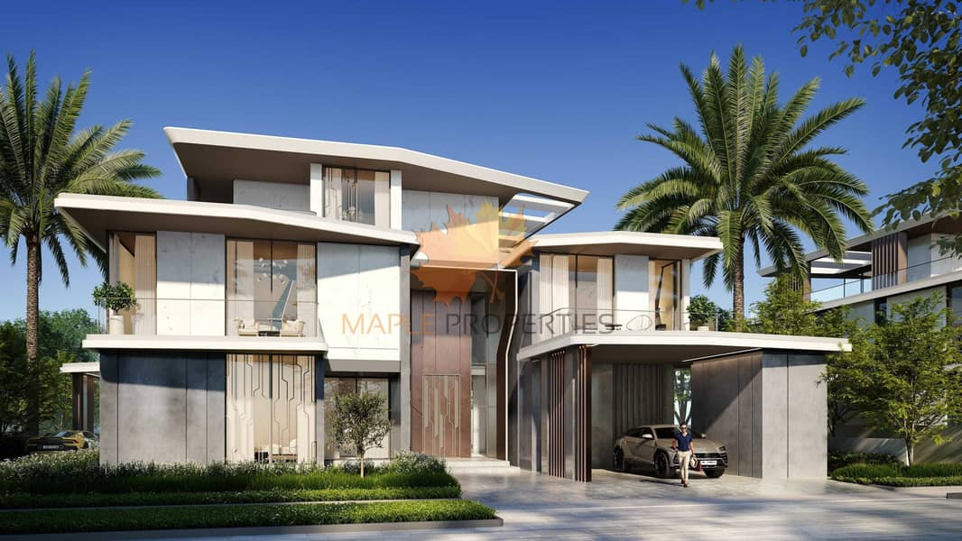 11 Lamborghini Villas By Emaar At Dubai Hills Estate With 5 Years Payment Plan