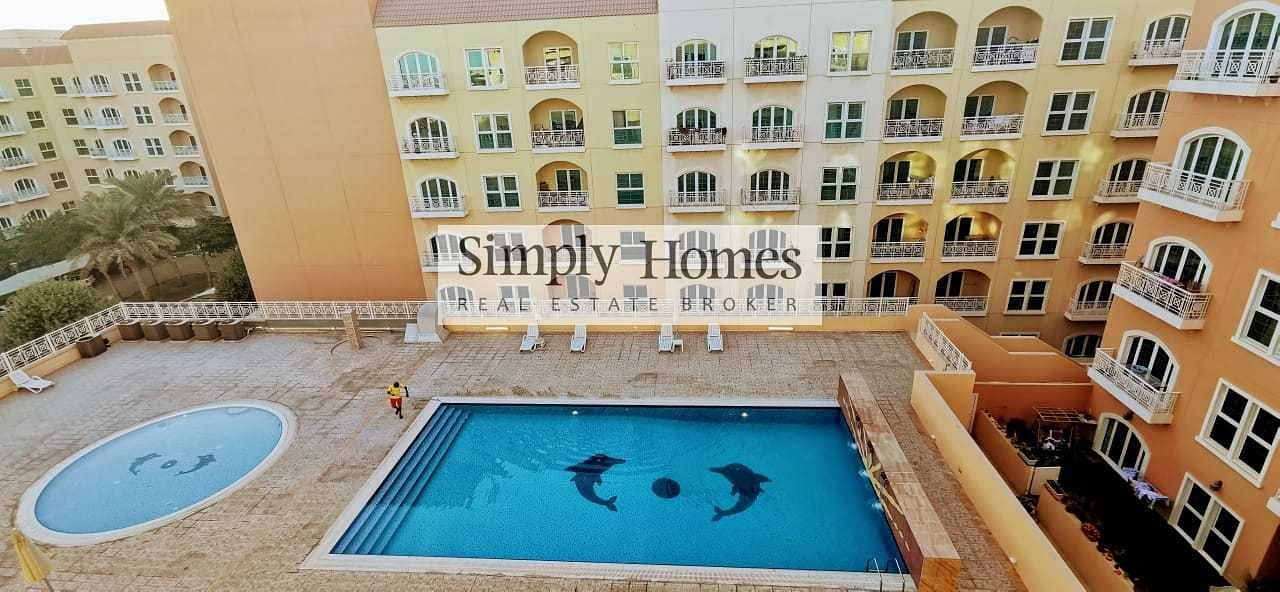 2 Spacious 1 BR Apart. / Pool View / Vacant